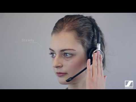 Setting up your wired headset – Sennheiser