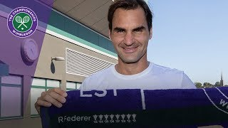 Roger Federer remembers his eight Wimbledon titles