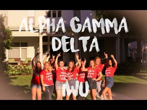 Alpha Gamma Delta 2018 Recruitment IWU