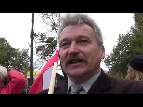 Lawina: Stop CETA Demonstracja W Warszawie 15.10.2016