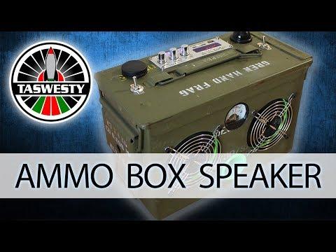 Ammo Box Speaker DIY