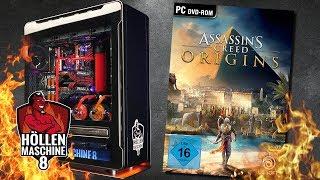 Assassin's Creed Origins auf der Höllenmaschine 8   #Michimeuchelt #Gaming-PC