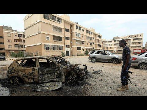 ليبيا: قصف صاروخي على أحياء في العاصمة طرابلس يودي بحياة خمسة أشخاص