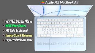 M2 MacBook Air CONFIRMED! Specs & Release Date Explained