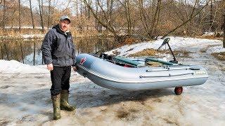 Лодка РАКЕТА - новая лодка друга Андрея | Рыбалка | Открытие лодочного сезона Домашняя колбаса