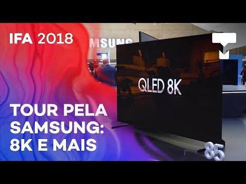TV 8K e mais novidades da Samsung na IFA 2018 - TecMundo