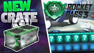 BIG ROCKET LEAGUE UPDATE! (New Crate, Event and Rocket Pass 3)
