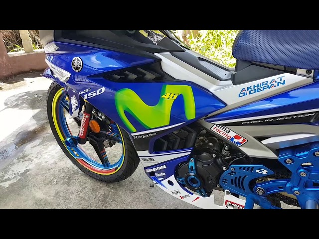 Y15ZR Movistar GP edition fully modified (Just Share Idea)
