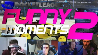 Rocket league funny moments 2 ???? (funny reactions, fails & wins by community & pros!)