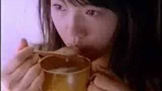 クノールカップスープのCMです。