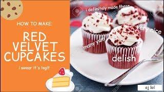 zu machen, wie die red velvet cupcakes den RICHTIGEN Weg | Ep-1 | AJ lol