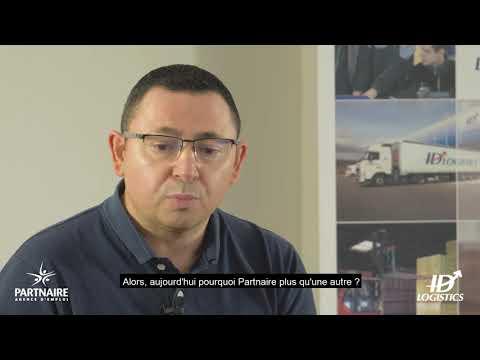Les témoignages Partnaire : Romain Gaultier de l'entreprise ID Logistics