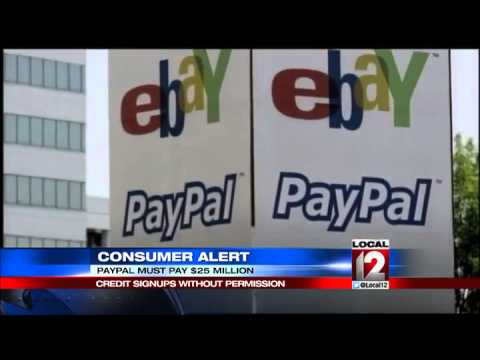 PayPal facing $25M sanction for illegal credit sign-ups