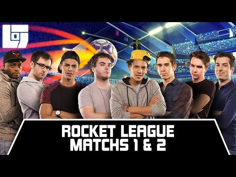 Session ROCKET LEAGUE - Matchs 1 & 2 - Legends Of Gaming