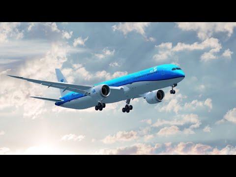 Las Vegas Mccarran Landing ( Aero Mexico Boeing 787 ) ( Flight