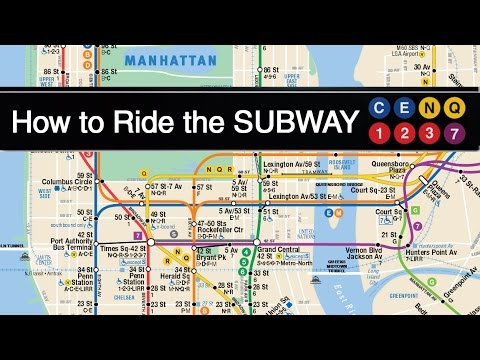 Bajar Subway Map De Ny.How To Ride The Subway In New York City