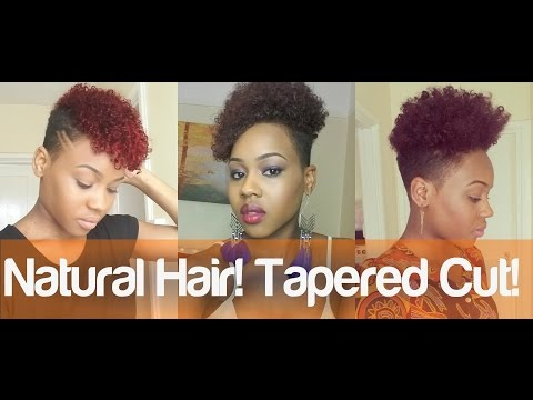 Tapered haircut natural hair
