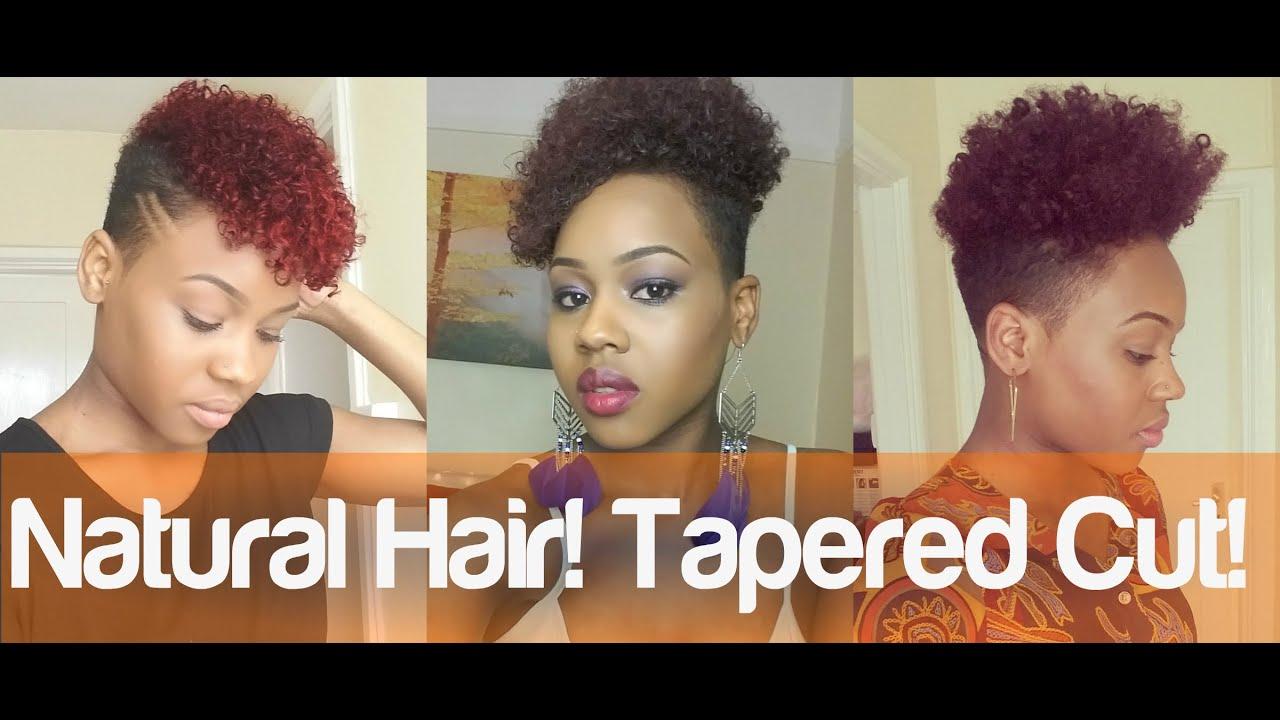 97. tapered natural hair
