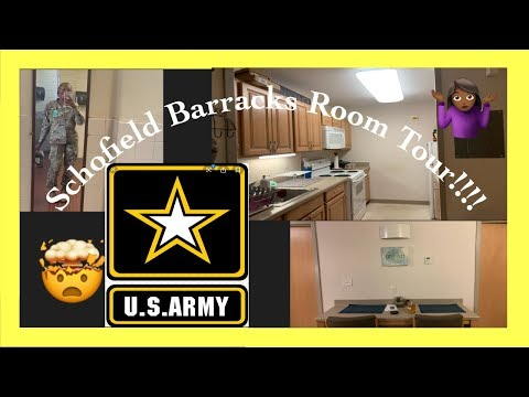 Schofield Barracks Room Tour | Undecorated
