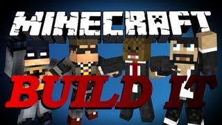 Minecraft Build It (Draw My Thing) Minigame w/ SkyDoesMinecraft, CaptainSparklez, and xRPMx13 #5