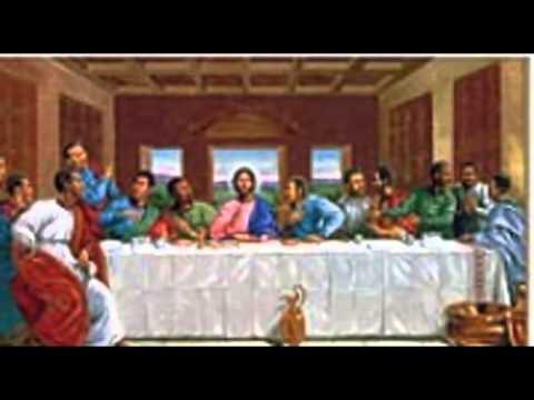 Black Last Supper Black Art African American Art Black Christian Art
