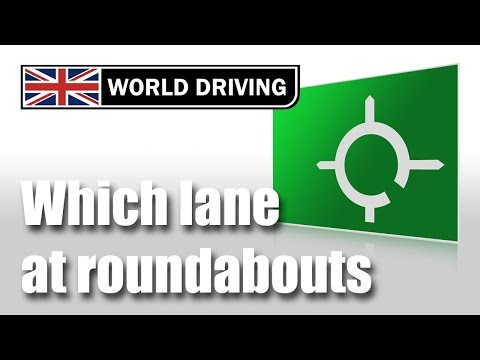 Which Lane To Use On Roundabouts (beginners or refresher)