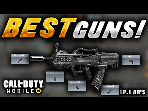 Lowest Recoil, Highest Damage, Etc! | Best Guns Ep.1 (AR's) | Call Of Duty Mobile | CODM Tips