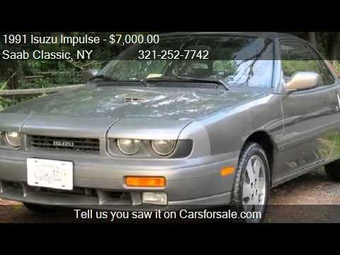 1991 isuzu impulse rs turbo awd 2dr coupe for sale in staten youtube. Black Bedroom Furniture Sets. Home Design Ideas