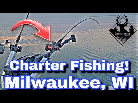 Charter Fishing Coho And Lake Trout - All Anglers Charter - Milwaukee, WI
