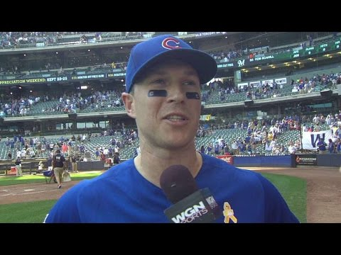 CHC@MIL: Coghlan discusses three-RBI game in 7-2 win
