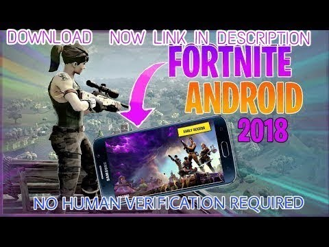 HOW TO DOWNLOAD FORTNITE MOBILE ON ANDROID - NO HUMAN VERIFICATION(FORTNITE MOBILE BATTLE ROYALE) 😱