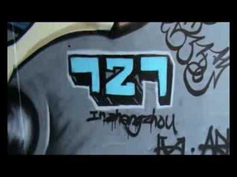 hiphop graffiti in china (zhengzhou) - 727crew