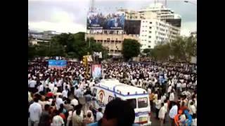 YSR Final Journey Hyderabad Videos