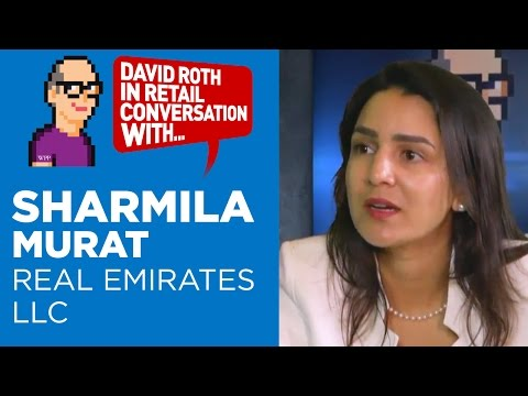 David Roth in Retail Conversation with Sharmila Murat, Country Manager, Real Emirates LLC