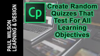Adobe Captivate - Create Quizzes That Test For All Objectives
