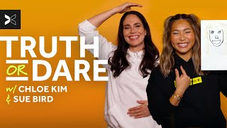 Tacos Or Pizza? Find Out On Truth Or Dare | Chloe Kim And Sue Bird