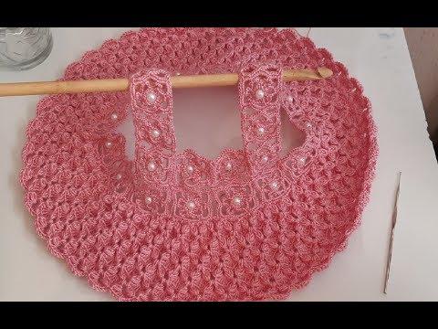 Blusa tejida a crochet/ vestido a crochet / ganchillo  / easy crochet dress / parte #1
