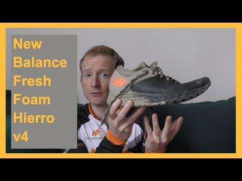 venta limitada buscar oficial profesional de venta caliente New Balance Fresh Foam Hierro v4 Review - YouTube
