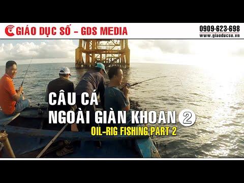 Câu cá ngoài giàn khoan phần 2 - Oil-rig fishing part 2