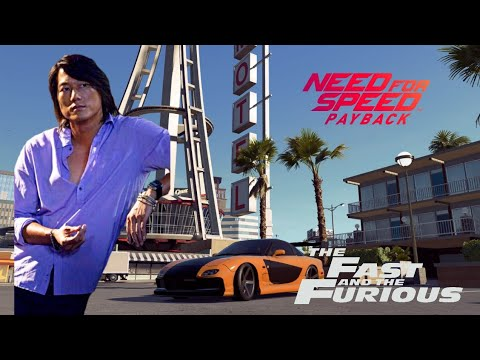 Han's Rx7 From Fast And The Furious Tokyo Drift On NFS Payback | Incredible Build