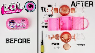 WHAT'S REALLY iNSiDE an LOL SURPRISE SERiES 4 CAPSULE? | HOW iT'S MADE: L.O.L DOLL EXPERIMENT!!