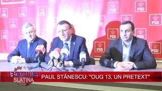 PAUL STĂNESCU  ''OUG 13, UN PRETEXT'' (16.02.2017)