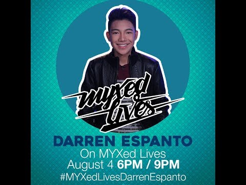 Darren Espanto on MYXED LIVES (08-04-2017)
