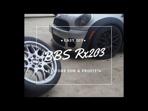 Making OLD BBS wheels look new again - EASY DIY (5 lug r56??)