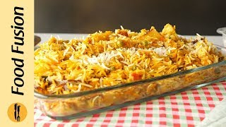 Mughlai Vegetable Biryani Recipe By Food Fusion