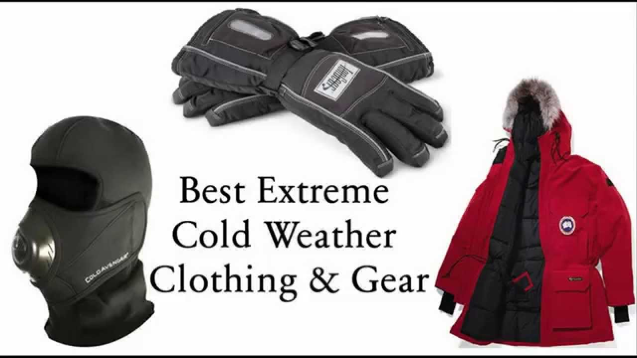3e3bd0c9d20 Best Extreme Cold Weather Gear   Clothing - YouTube