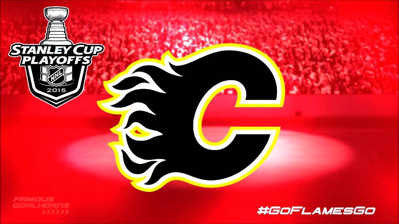 Calgary Flames 2015 Playoffs Goal Horn Youtube