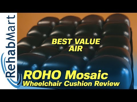 Best Value In Air Roho Mosaic Wheelchair Cushion Review Youtube