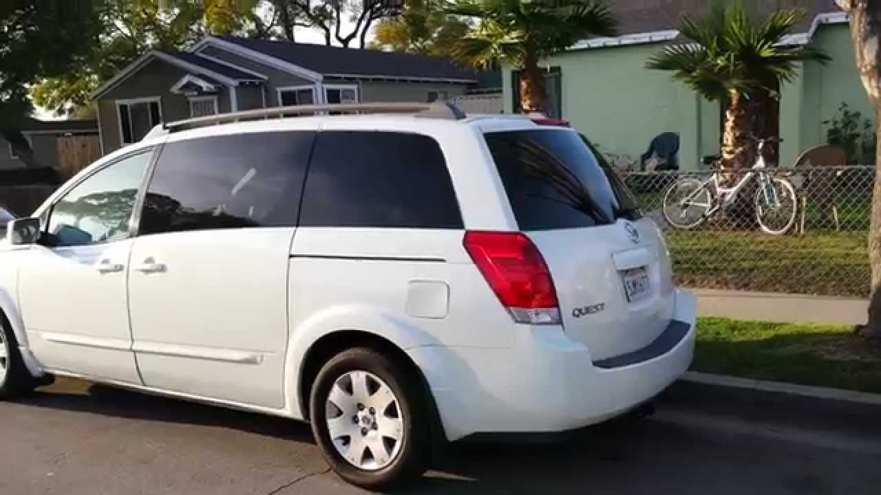 2004 nissan quest 3 5 s youtube 2004 nissan quest 3 5 s vanachro Gallery