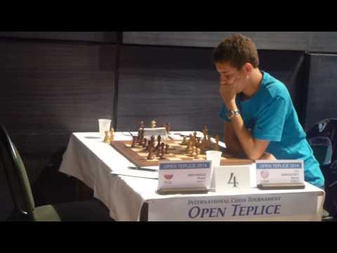 GM Daniel Naroditsky; Open Teplice 2014